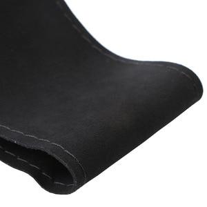 Image 3 - Único ante nuevo Material protector para volante de coche tamaño 36cm/38cm/40cm para Skoda Chevrolet Ford Nissan, etc.