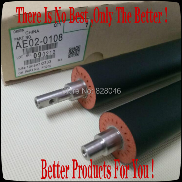 For Savin Gestetner Lanier Ricoh AE02 0108 AE020108 Lower Fuser Pressure Roller For Ricoh 1035 1045