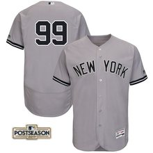 7acc0338c93 MLB Men's New York Yankees Aaron Judge White 2017 Postseason Flex Base  Player Jersey. US $25.07 / piece Free Shipping