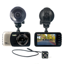 4 Dual Lens 1080P FHD 1 0MP DVR Dash font b Camera b font Car DVR