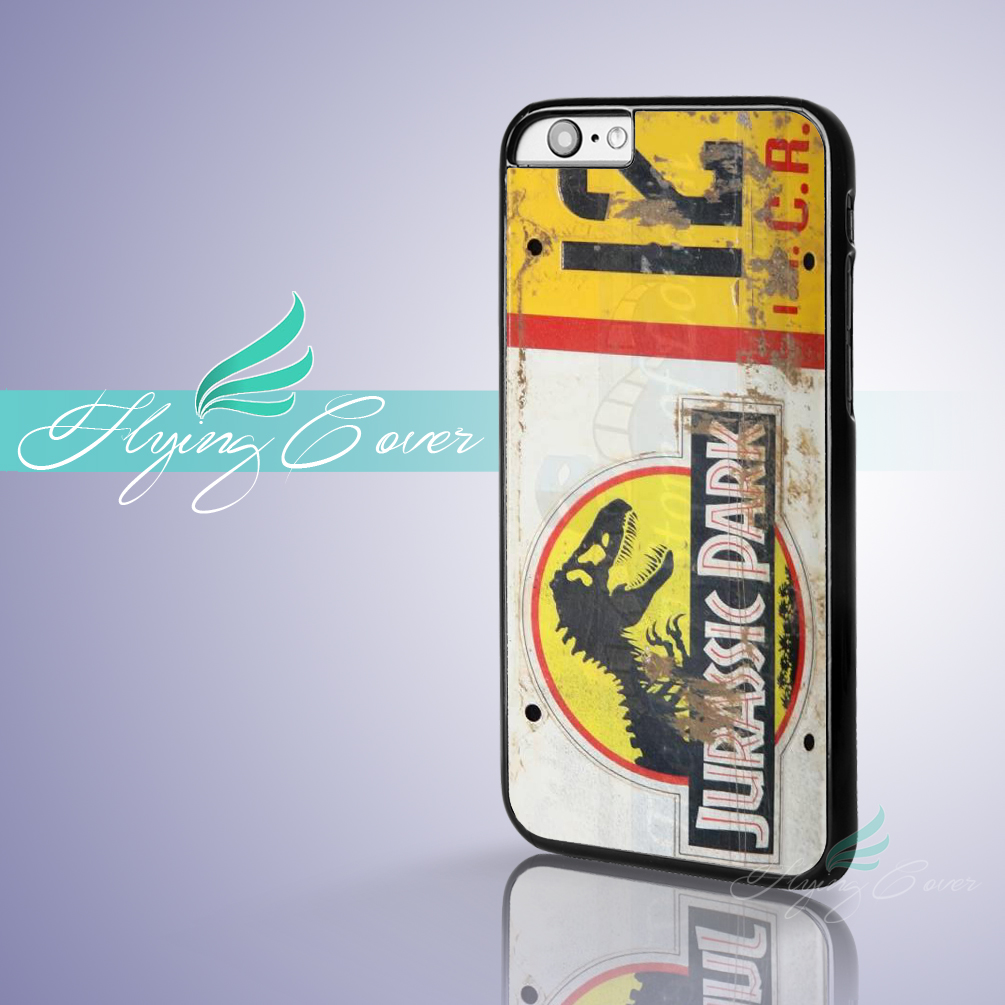 best cheap f15af a4581 US $6.95  Coque Jurassic Park Jeep License Capa Phone Cases for iPhone X 8  8Plus 7 6 6S Plus SE 5S 5C 5 4S 4 Case for iPod Touch 6 5 Cover-in ...
