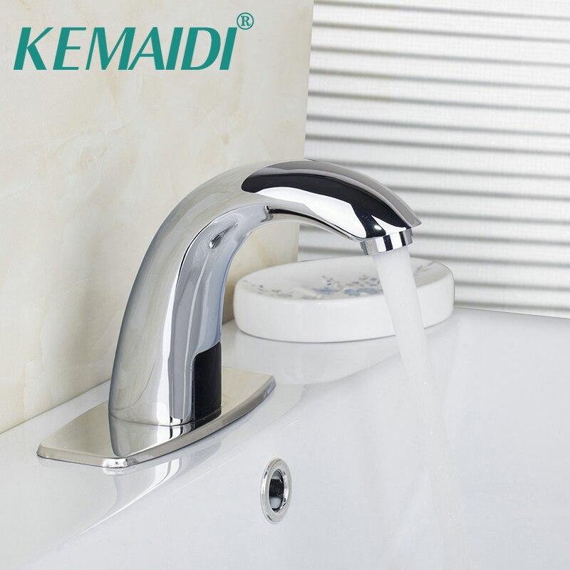 KEMAIDI moderne luxe robinet automatique de sens pour cuisine salle de bains bassin économie d'eau capteur électrique robinet d'eau mélangeur