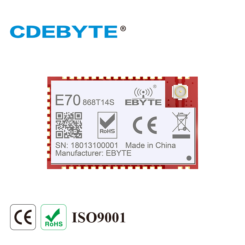 E70-868T14S 868MHz 14dBm CC1310 Wireless Module 868MHz Transceiver ARM Controller SoC IPEX Connector