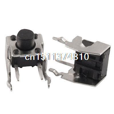 20 x Right Angle Momentary Tact Tactile Push Button Switch Non Lock 6x6x6mm