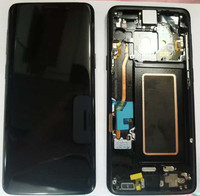Coreprime 100% AMOLED 5,8 ЖК дисплей для samsung S9 G960F G960U G960 S9 Дисплей Сенсорный экран сборки Замена + рамка + инструменты