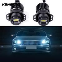 1 Pair Car LED Angel Eye Light Bulbs For BMW E90 Styling Accessories 80W White