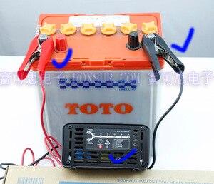 Image 2 - FOXSUR wholesale original 12V 10A 7 stage smart Lead Acid Battery Charger Car battery charger  Input voltage: 180 260V AC, 50Hz