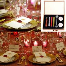 Selo de cera retrô euclidean, kit para projetos de artesanato de hobby, convite, casamento, embalagem de garrafa