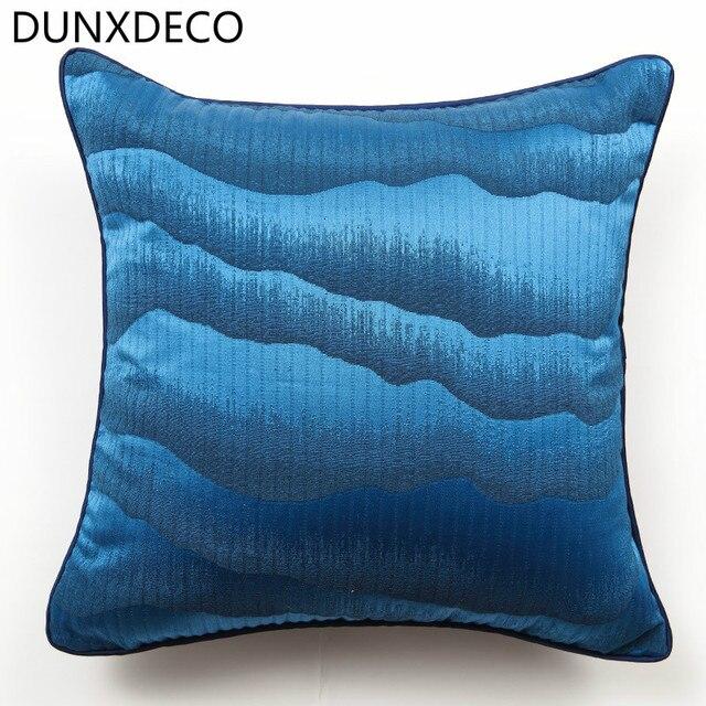 Blue Decorative Pillows Modern