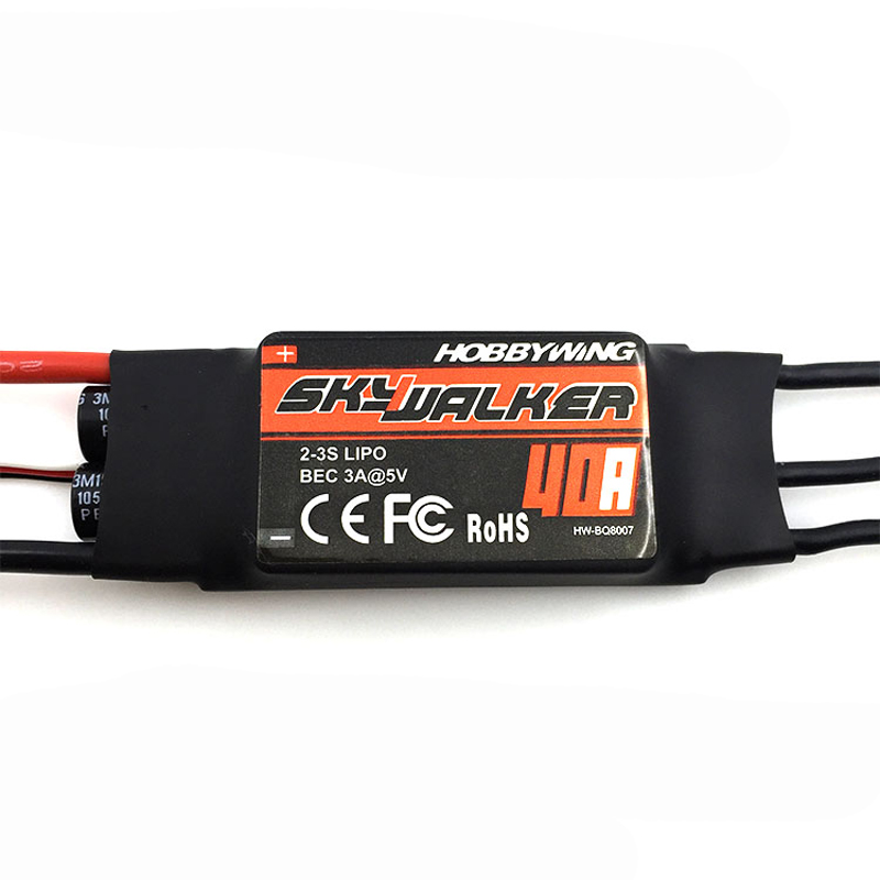 Diligent Hobbywing Skywalker 40a 2-3s Lipo Esc 50hz-432hz Refresh Rate Electronic Speed Controller With 5v3a Bec For Rc Drone Aircraft Back To Search Resultstoys & Hobbies