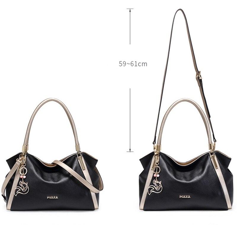 FOXER marka dizaynı Qadın yumşaq orijinal dəri çantaları - Çantalar - Fotoqrafiya 4