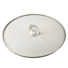1pcs 29/33cm Mesh Stainless Steel Splatter Screen Oil Frying Pan Lid Spill Proof Kitchen Cooking Tools