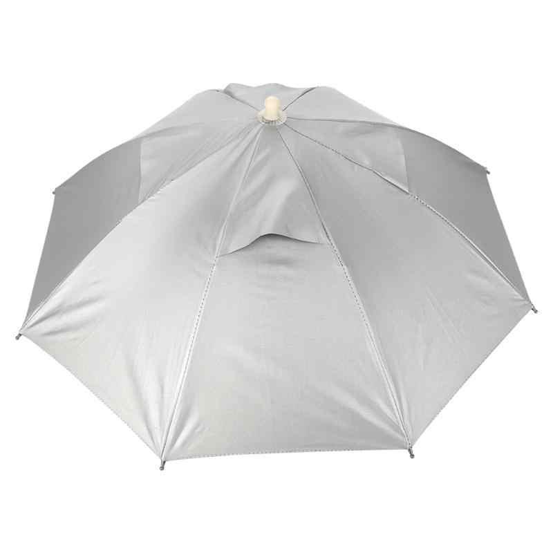 4c79939c667a7 Portable Umbrella Hat Sun Shade Waterproof Outdoor Pesca Hat Sports Caps Sunshade  UV Protector Hiking Camping