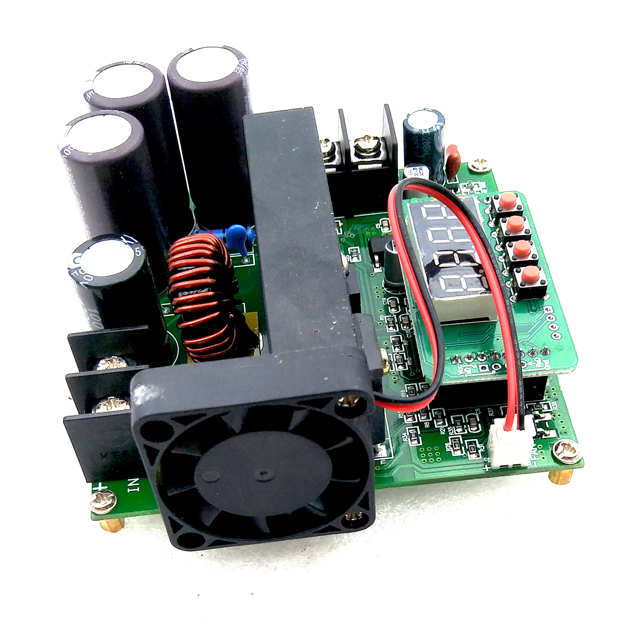 Image 4 - 5pcs/lot B900W adjustable impulse module Current Transformer Voltage Regulator Module Input Constant 8 60v to 10 120v 900w-in Integrated Circuits from Electronic Components & Supplies