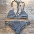 Vessos Bikini 2017 Swimwear Women Bikini Set Bandage Beach Bathing Suit Top Low Waist Swimsuit Push Up Biquini