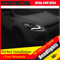 Auto Clud Led Headlights For Ford Kuga 2013 2015 Xenon H7 Headlamps For Ford Kuga Car