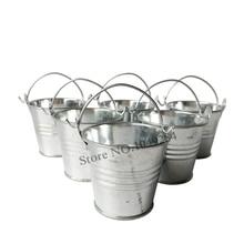 10pcslot cheap mini seed buckets nursery pots small pails flower pot for wedding