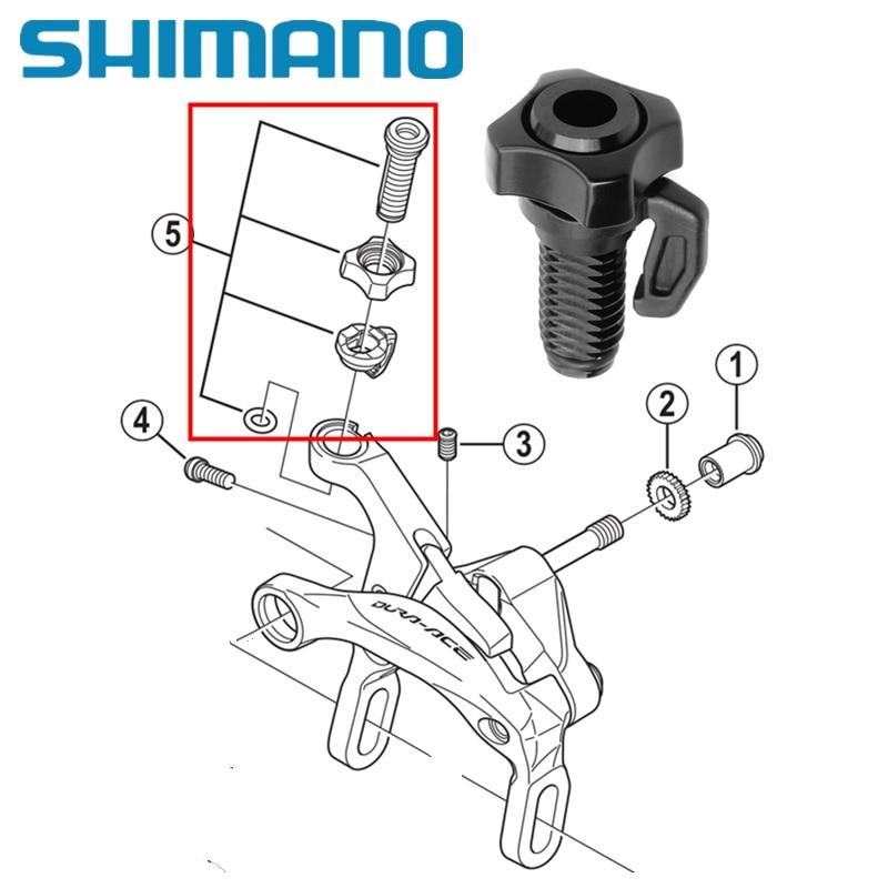 Adjuster Shimano Dura-Ace BR-R9100//9000 Brake Caliper Cable Adjusting Bolt Unit