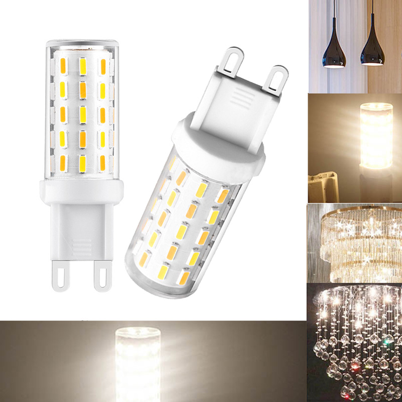 5Pcs/Lot Flicker Free 3 W G9 LED Bulb Warm White 60 x 4014 AC 100-240V SMD LED Light Bulb --M25