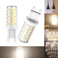 5Pcs/Lot Flicker Free 3 W G9 LED Bulb Warm White 60 x 4014 AC 100 240V SMD LED Light Bulb M25