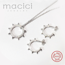 Fashion 925 Sterling Silver Costume Jewelry Sparkly Unique Summer Style Cubic Zirconia Jewellery Sets KS001