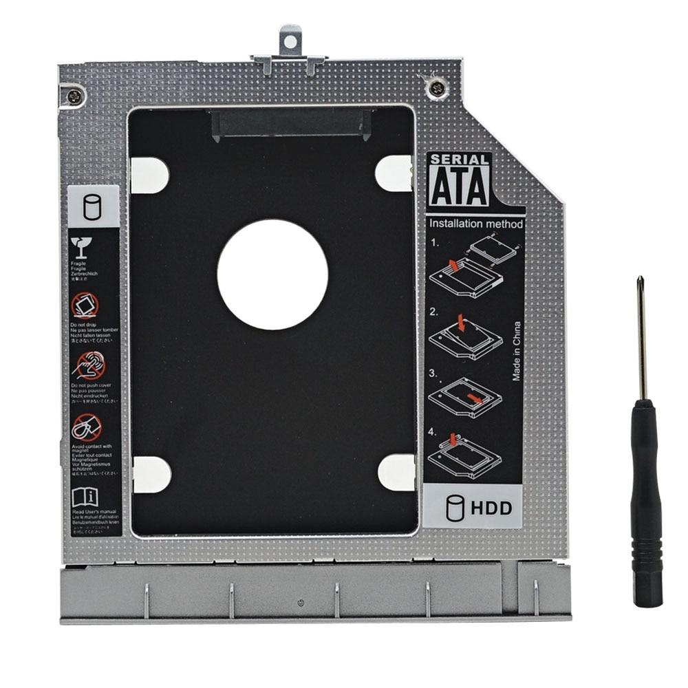 For HP ProBook 445 450 G0 G1 G2 Professional Aluminum Optibay 2nd HDD Caddy 9.5mm SATA 3.0 2.5