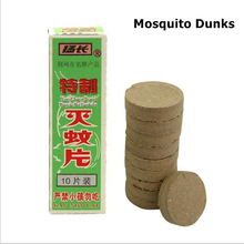 10PCS/lot Mosquito Dunks Incense Smoke Mosquito-Killing Pill Mat Mosquito Repeller Fly Bug Insect Traps Pest Control(China)