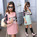 2016 Christmas Kids Winter Clothes, Long Outterwear Fashion Girls Clothing