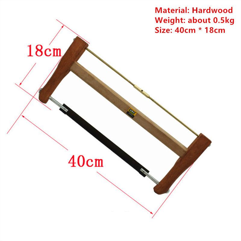 In L40cm Hohe Qualität Bogen Sah Rahmen Sah Hand Kreissäge Sägen Sah Werkzeug W080 Modischer Stil;