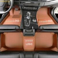Kokololee индивидуальные автомобильный коврик для HYUNDAI Elantra Tucson Veloster i30 ix25 ix35 соната Equus Verna Genesis 2015 автомобильные коврики