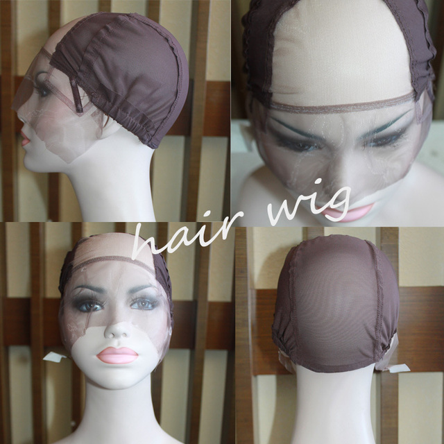 Free Shipping! Glueless Full Lace Wig Cap