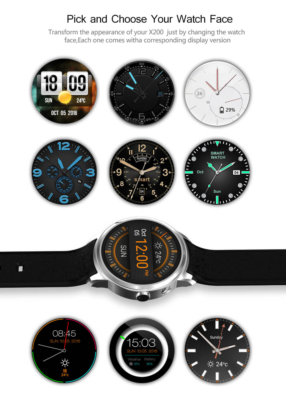 Makibes X200 Smart Watch (15)