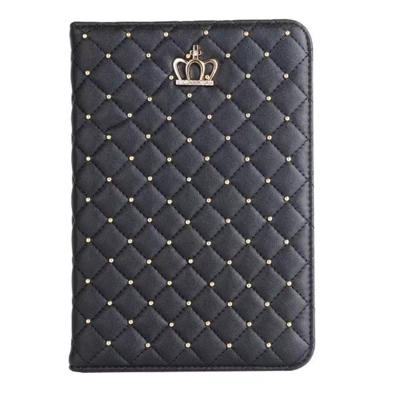 Woman Girl Crown PU Leather Cover Case For Apple Ipad Air 1 2 5 Air1 6 Air2 9.7 Tablet Funda Stand Smart Shell + Film