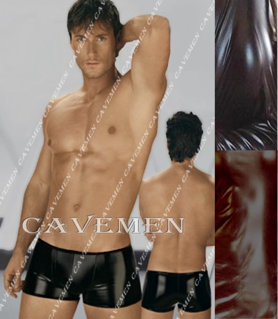 Low-waisted Leatherwear* 2429 *sexy men T-Back G-String Underwear Triangle pants Trousers Suit Jacket boxer  free shipping