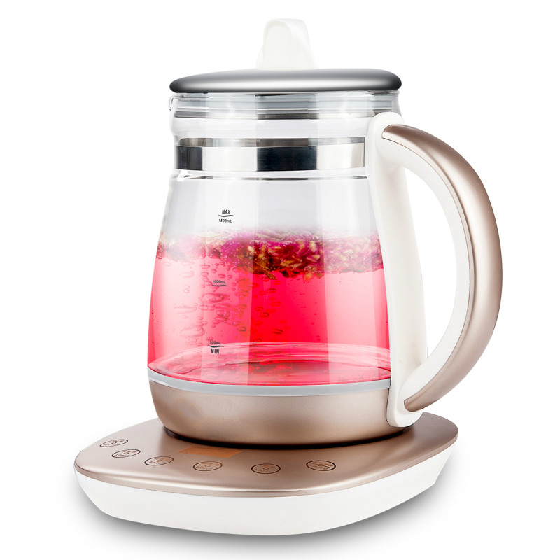 Curing pot tisanes multifunctional automatic thickening glass boiled tea electric cooking electric water ket curing pot tisanes of the multifunctional automatic thickening glass boiled tea electric cooking pot electric water ket