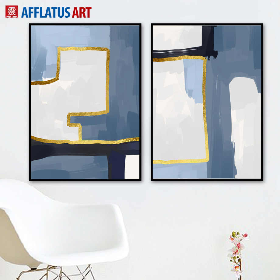 Wall Art Canvas Painting Nordic Posters And Prints Creative Geometry Abstract Art Print Wall Pictures For Living Room Home Decor