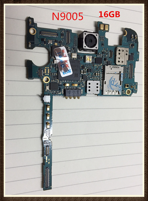 100%Working unlocked Original Google Motherboard For Galaxy NOTE 3 N9005 board LTE 16GB Clean IMEI free shipping