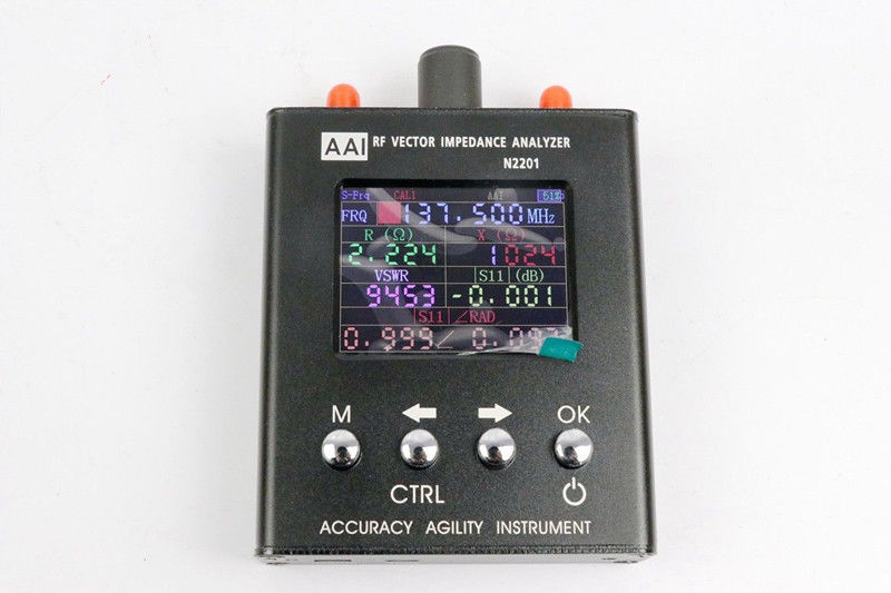 N2201SS UV RF Vector Impedance ANT SWR Antenna Analyzer Meter Tester 137MHz - 2700MHZ With Power Measuring Function
