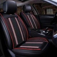 New Luxury Auto Universal Car Seat Cover Automotive Seats Covers for ALFA 147 156 159 166 romeo giulietta Giulia Stelvio MiTo