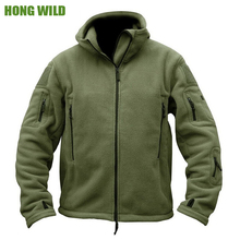 Fleece Softshell Jacket  Military Tactical  Man  Polartec Thermal Polar Hooded  Outerwear Coat Army Clothes