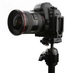 Image 2 - Универсальный быстросъемный вертикальный кронштейн L для Canon 5D EOS Mark II Mark III Arca Swiss RRS