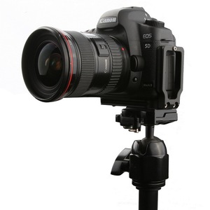 Image 2 - Universal Quick Release Vertical L Plate Bracket Holder for Canon 5D EOS Mark II Mark III Arca Swiss RRS