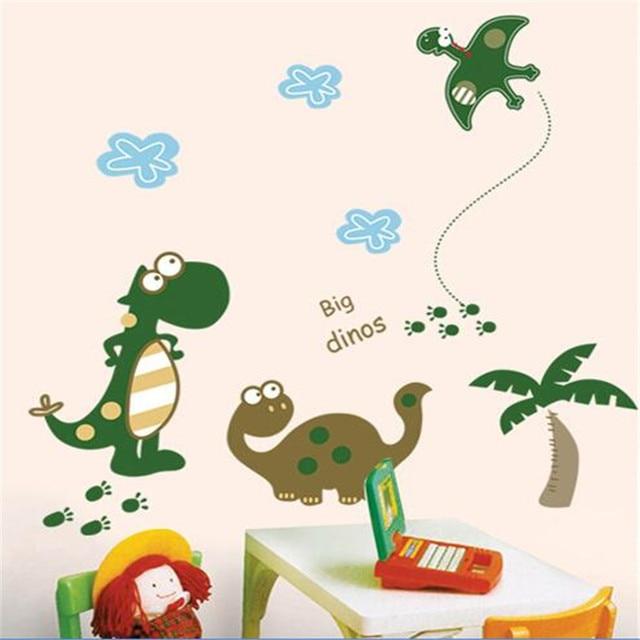 Dinosaurios dinosaurio pegatinas de pared ni os habitaci n for Pegatinas habitacion infantil