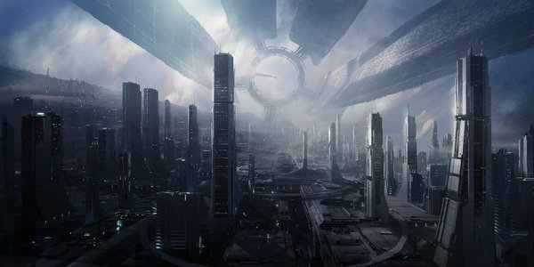"""19 Mass Effect 2 II Citadel Game 28"""" x 14"""" inch Wall Poster"""