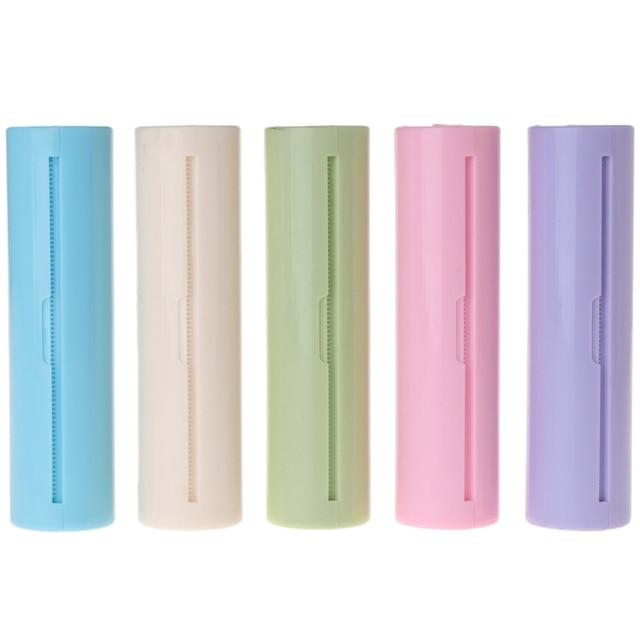 Pull Type Key Ring Hand Wash Paper Soap Antibacterial Antivirus Flakes Portable 5