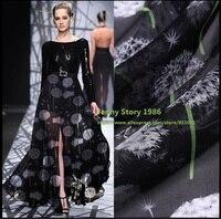 Pop Stripe Printed Silk Chiffon Fabric 100 Silk Cloth Craft Bedding Tulle Organza Silk Fabric