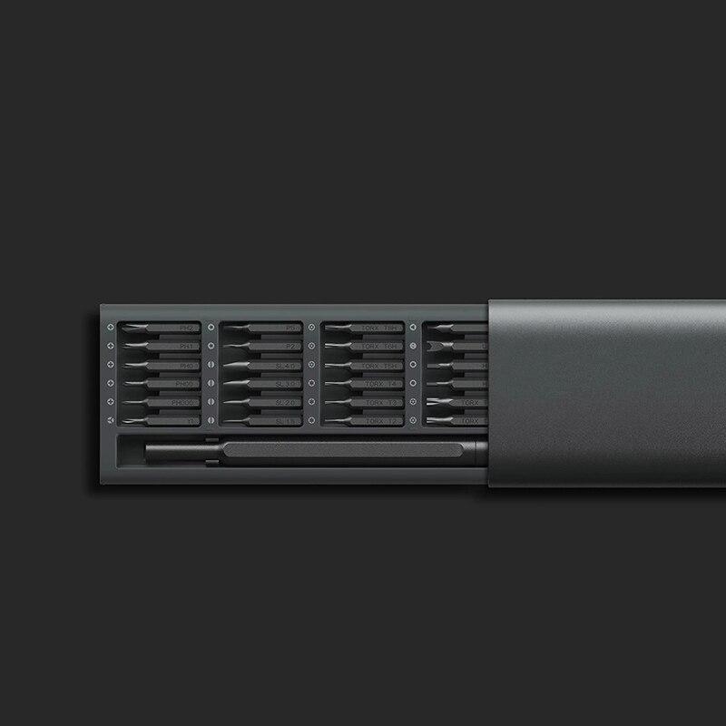 Image 5 - Лидер продаж, оригинальный набор отверток Xiaomi mijia Wiha для  ежедневного использования, 24 В 1, Прецизионная коробка с магнитными  битами, Набор отверток DIY для умного домаУмный пульт управления   -