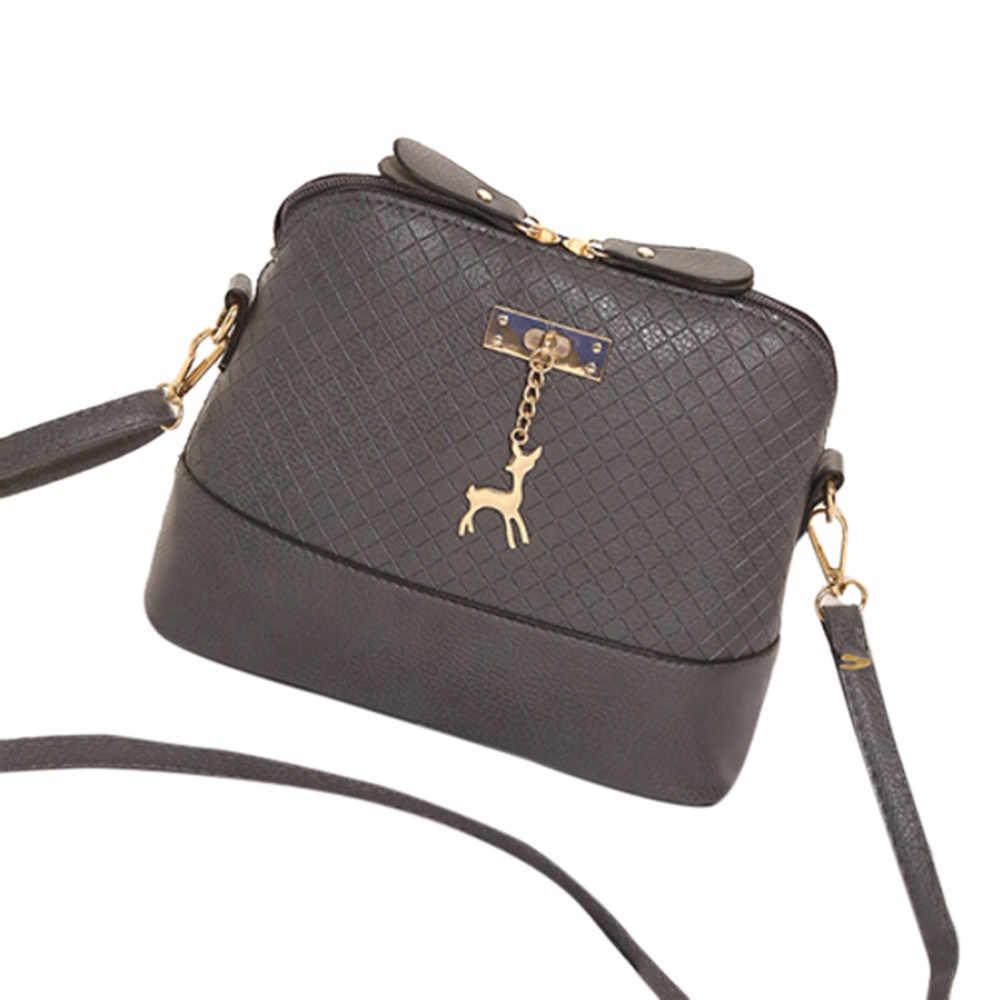 6aba2f4fde2e Модные женские сумки через плечо с изображением оленя, в форме раковины,  роскошные женские сумки