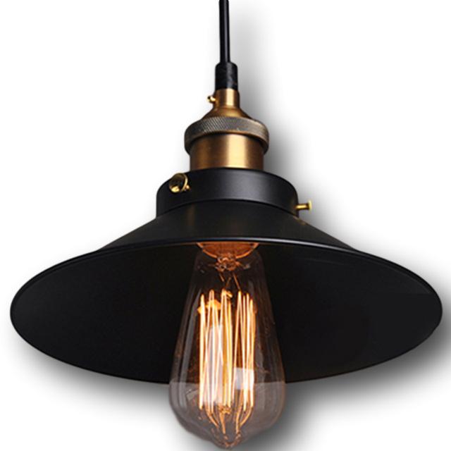 Lustre Minimalista Lustre Edison Industrial Lâmpadas Projeto Lampe Lamparas De Techo Colgante Metal Sótão Lâmpada Do Vintage