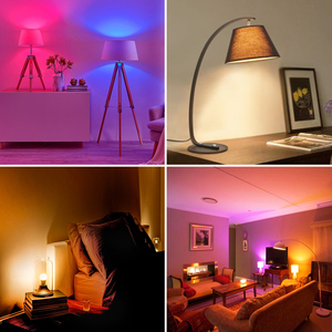 Image 4 - RGB LED Bulb E27 B22 Dimmable 16 Color Changing Magic Light Bulb 5W 10W 15W AC 110V 220V RGB + White IR Remote Smart Lampada